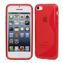 A-One BrandFlexiCase Skal till Apple iPhone 5C (Röd)