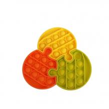 Fidget ToysPop it Fidget Sensory Leksak - Pussel - Blomma (3 Delar)
