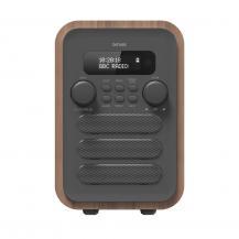 OEMFM/DAB+ Radio Bluetooth Trä/grå