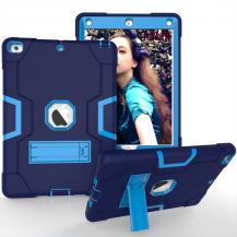A-One BrandSilikonskal med Stativ för iPad 9.7 2017/2018 - Mörkblå