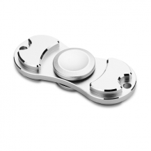 Fidget SpinnerMetal Fidget Spinner - Silver