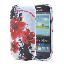 OEMFlexiCase Skal till Samsung Galaxy S3 Mini i8190 - (Red Scarlet)