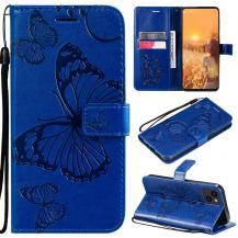 OEMFjärilar Plånboksfodral iPhone 13 - Blå