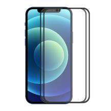 A-One Brand[2-PACK] Härdat glas iPhone 13 Pro Max Skärmskydd - Svart