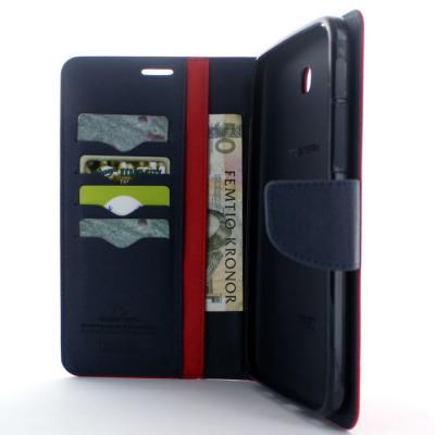Mercury Fancy Diary Plånboksfodral till Samsung Galaxy Tab 3 7,0 (Röd)