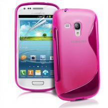 OEMFlexiCase Skal till Samsung Galaxy S3 Mini i8190 - (Rosa)