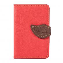 OEMLeaf kreditkortshållare för smartphones - Röd
