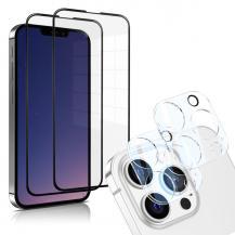 A-One BrandiPhone 13 Pro [4-PACK] 2 X Linsskydd Glas + 2 X Härdat Glas
