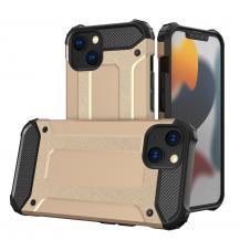 HurtelHybrid Armor Tough Rugged Skal iPhone 13 mini - Guld