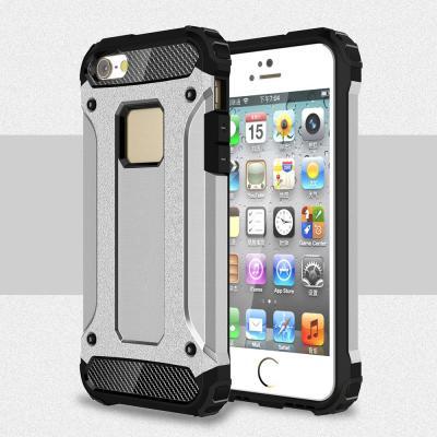 Hybrid Armor MobilSkal till iPhone 5/5S/SE - Silver