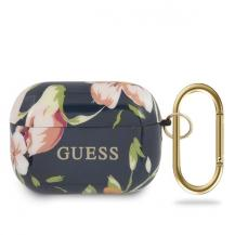 GuessGuess N.3 Flower Collection airpods Pro skal Blå