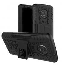 OEMRugged Armor Kickstand Skal till Motorola Moto G6 Plus