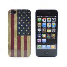 A-One BrandUSA flaggaBaksideskal till Apple iPhone 5/5S/SE