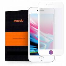 MocoloMocolo Härdat Glas Tg+ Full Glue iPhone 7/8/SE 2020 White