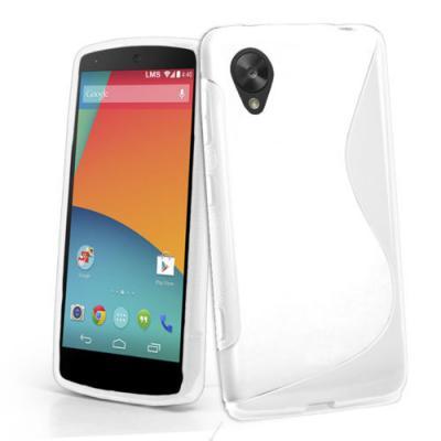 FlexiCase Skal till LG Nexus 5 (Vit)