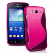 OEMFlexiCase Skal till Samsung Galaxy Core Advance - (Magenta)