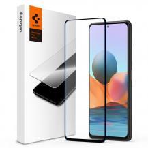 SpigenSpigen - FC Härdat Glas Xiaomi Redmi Note 10 - Svart