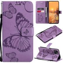 OEMFjärilar Plånboksfodral iPhone 13 Mini - Lila