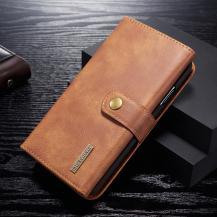 DG.MINGDG.MING 2-in-1 Plånboksfodral för iPhone 11 - Brun