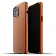MujjoMujjo Full Leather Case till iPhone 12 Pro Max - Tan