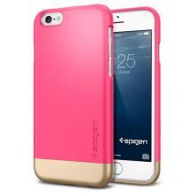 SpigenSPIGEN Style Armor Skal till Apple iPhone 6/6S (Magenta - Gold)