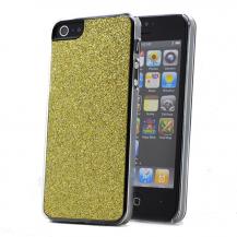 A-One BrandGlitter skal till Apple iPhone 5/5S/SE (Gul)