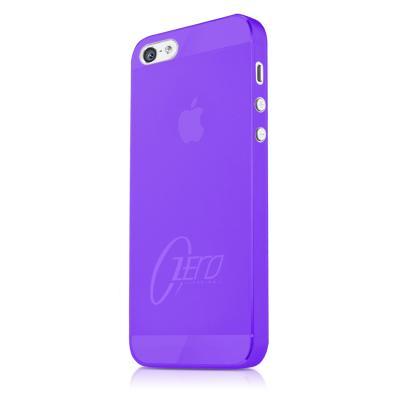 ITSkins Zero 3 Skal till Apple iPhone 5/5S/SE (Lila) + Skärmskydd