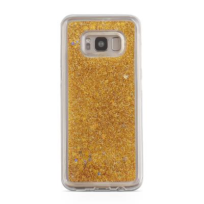Glitter Skal till Samsung Galaxy S8 - Guld