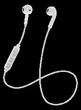 STREETZSTREETZ Semi-in-ear BT hörlurar med mikrofon och media/svarsknapp, optimal fit