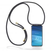 CoveredGear-NecklaceCoveredGear Necklace Case Samsung Galaxy S10 - Grey Cord