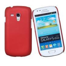 OEMBaksidesskal till Samsung Galaxy S3 mini i8190 (Röd)