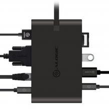 ALOGICALOGIC USB-C Travel Dock Pro 7 portar med 100W PD