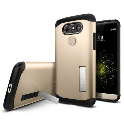 SPIGEN Slim Armor Skal till LG G5 - Gold