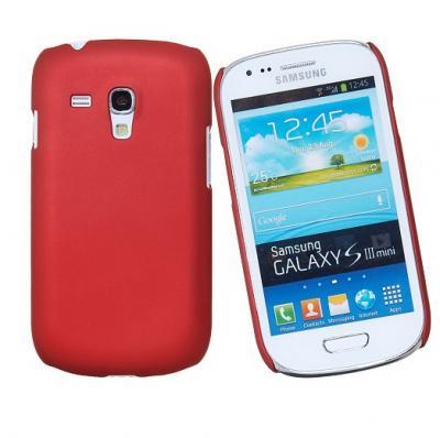 Baksidesskal till Samsung Galaxy S3 mini i8190 (Röd)