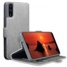 A-One BrandQubits Plånboksfodral till Huawei P20 - Grå