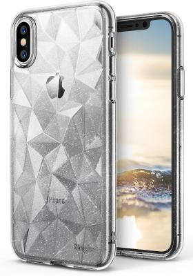 Ringke Air Prism Glitter Skal till Apple iPhone XS / X - Clear
