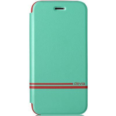 Devia Plånboksfodral till Apple iPhone 6 / 6S - Turkos