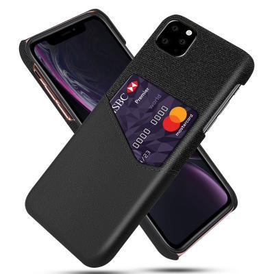 Mobilskal med korthållare till iPhone 11 Pro - Svart