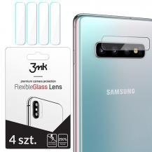 3MK3Mk Härdat Glas Kamera Lens Galaxy S10