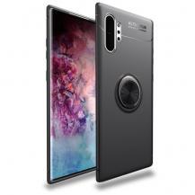 A-One BrandSkal med Mobilhållare för Samsung Galaxy Note 10 Plus - Svart