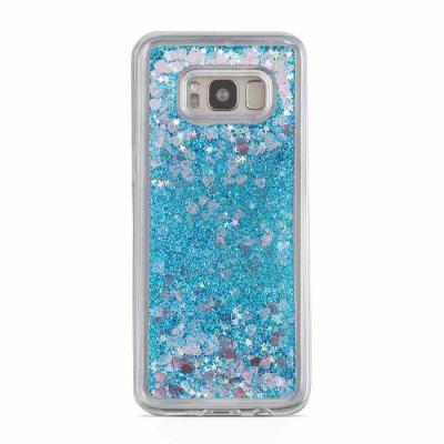 Glitter Skal till Samsung Galaxy S8 - Blå