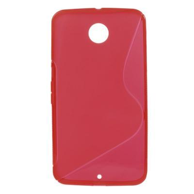Flexicase Skal till Google Nexus 6 - Röd