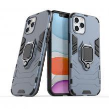 HurtelRing Armor kickstand Skal iPhone 12/12 Pro Blå