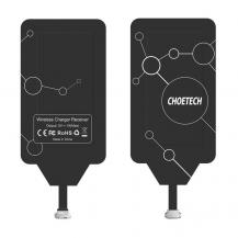 ChoetechChoietech Trådlös Adapter Qi - Micro USB - Svart