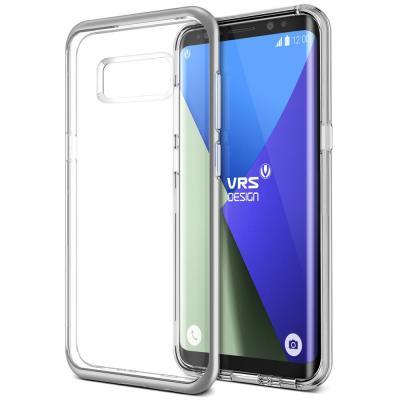Verus Crystal Bumper Skal till Samsung Galaxy S8 Plus - Silver