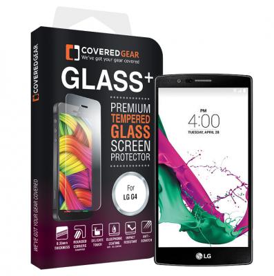 CoveredGear härdat glas skärmskydd till LG G4