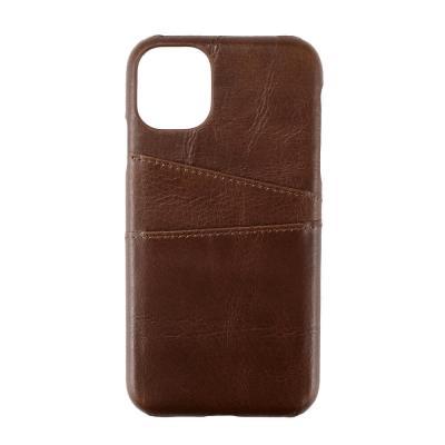 ONSALA COLLECTION Mobilskal Skinn iPhone 11 - Brun