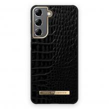 iDeal of SwedeniDeal Atelier Skal Samsung Galaxy S21 - Neo Noir Croco