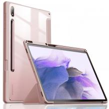 INFILANDInfiland Crystal Fodral Galaxy Tab S7 Fe 5g 12.4 - Rosa