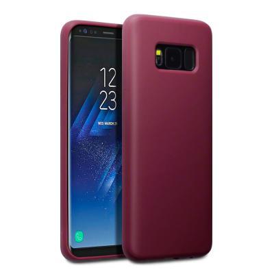 Gel Mobilskal till Samsung Galaxy S8 Plus - Röd